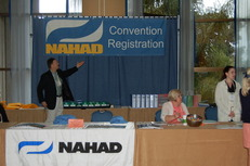 Convention Reg Desk
